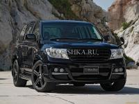 Toyota LAND CRUISER 200 (07-11) Накладки WALD BLACK BISON на пороги